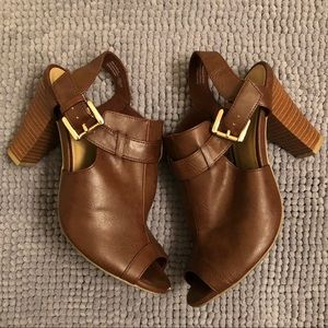 Fioni Open-toe Booties